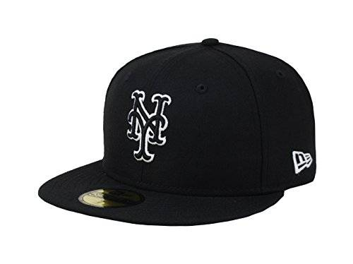 half off b00e1 53dbf ... Era 59fifty Men s Hat York Mets Black White Fitted Cap. New. 🔍. Share  this