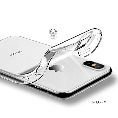 100% authentic 5ef1e 6853b iPhone x Case, iPhone Clear Case, Best Seller, Crystal Transparent Clear  Flexible Soft Gel TPU Cover Shell Skin, Slim Fit, Transparent, Protector,  ...