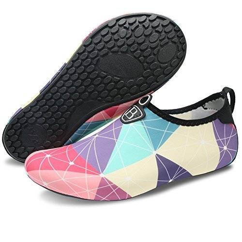 e3d6d1c595ec ... Barefoot Quick-Dry Water Sports Shoes Aqua Socks for Swim Beach Pool  Surf Yoga for Women Men. Sale! New. 🔍. Share this